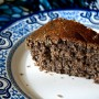 Black sesame yogurt cake 黑芝麻酸奶蛋糕