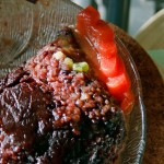 Purple rice cake from Bai Ji Niangao ( )