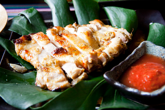 Jingpo grilled chicken