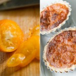 kumquat slice and tart