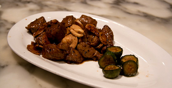 garlic-fragrant beef